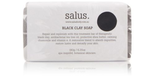 SALUS- Soap- Black Clay