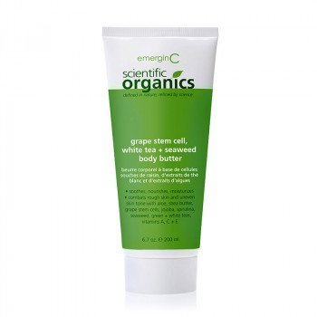 EmerginC Scientific Organics- Grape stem cell, white tea+ seaweed body butter